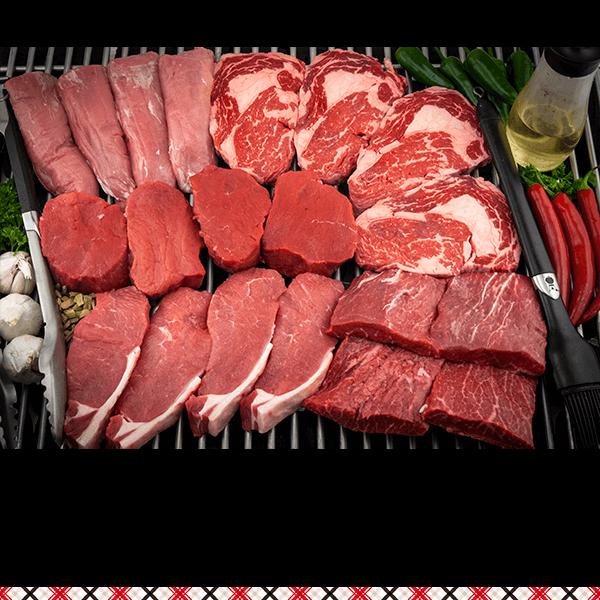 Luxe steak pakket